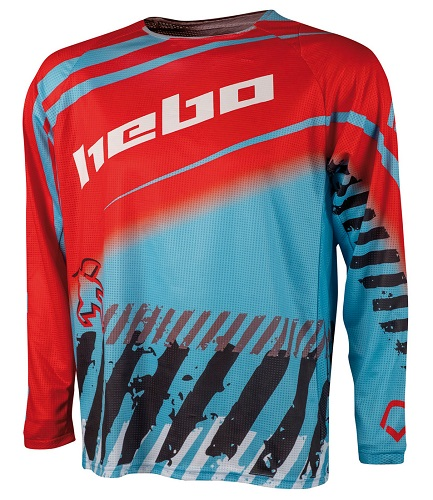 HEBO JERSEY END-M/X STRATOS L-TURQUOISE HEBO 40HE2537LTU