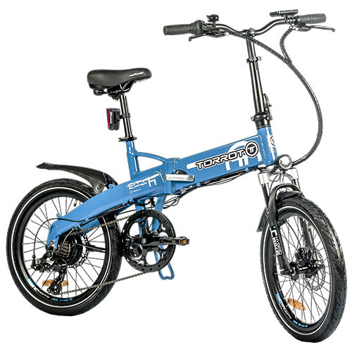 GAS GAS-TORROT BICYCLE ELECTRIC TORROT CITY SURFER BLUE 17TT-B0416-BL