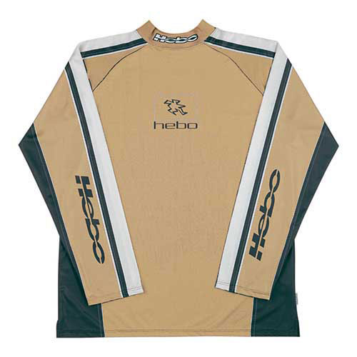 HEBO JERSEY BAGGY L-BROWN HE2515LC