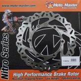 MOTO-MASTER BRAKE DISC FRONT NITRO HUSABERG TE125 2012-2014 110359