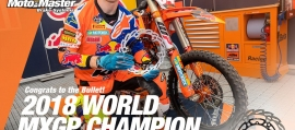 Motomaster - Οι Δίσκοι Flame Moto-Master έχουν τις περισσότερες νίκες στα Παγκόσμια Πρωταθλήματα Off Road